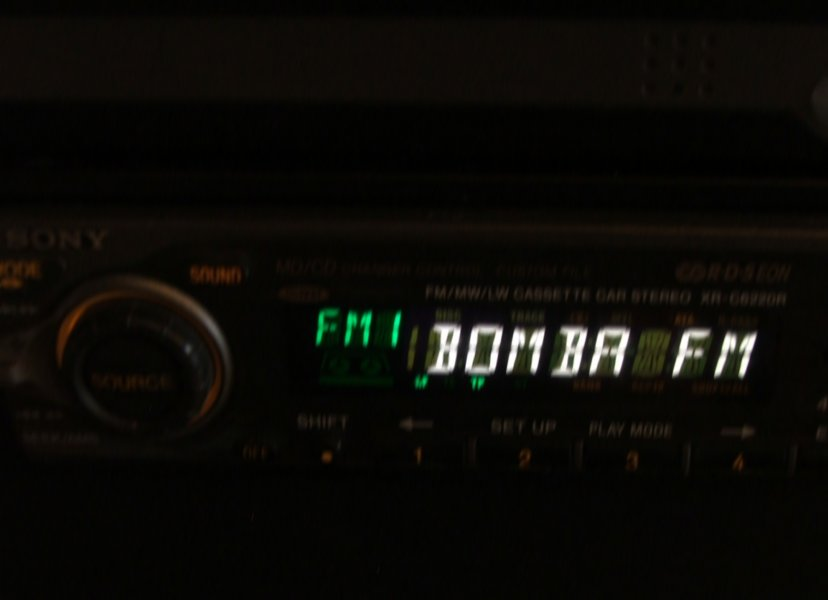ON-AIR BOMBA FM RDS